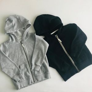 Carter's 2 Zip Up Hoodies